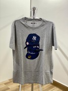 Camiseta New Era Caps NY Yankees Cinza