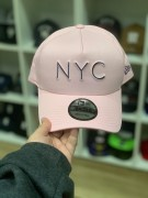 Boné New Era Aba Curva NYC Rosa