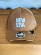 Boné New Era Aba Curva Stretch-Snap Bege