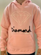 Moletom Diamond Supply Rosa