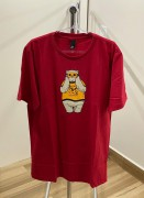 Camiseta New Skate Bear Vermelha