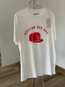 Camiseta Boston Red Sox Off White