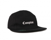 Boné Chronic 5 Panel Comptom Preto