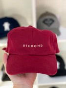 Boné Dad Hat Diamond Supply Vinho