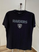 Camiseta New Era Raiders Animal Print Preta
