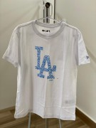 Camiseta New Era Los Angeles Dodgers Fresh Branca