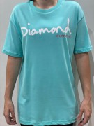 Camiseta Diamond Supply Clássica Verde Água