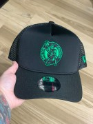 Boné New Era Boston Celtics Trucker Preto