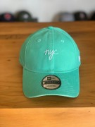 Boné New Era Aba Curva NYC  Verde Água Candy Colors