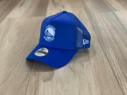 Boné New Era Aba Curva Golden State Warriors Trucker Azul