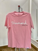 Camiseta Diamond Supply Rosa