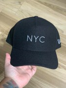 Boné New Era NYC Preto Aba Curva