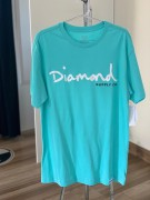Camiseta Diamond Supply Verde áGua