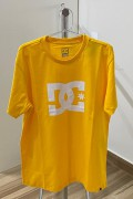 Camiseta DC Shoes Amarela