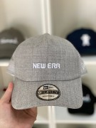 Boné New Era Aba Curva Trucker Dad Hat Cinza