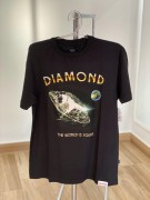 Camiseta Diamond Supply The World is Yours Preta