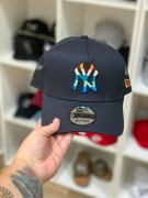 Boné New Era Aba Curva NY Trucker Colors