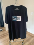 Camiseta New Era Logo Box Preta