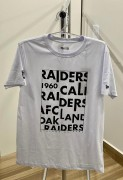 Camiseta New Era Raiders Letters Branca