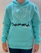 Moletom Diamond Supply Verde Água