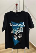 Camiseta Diamond Supply Galactic Preta