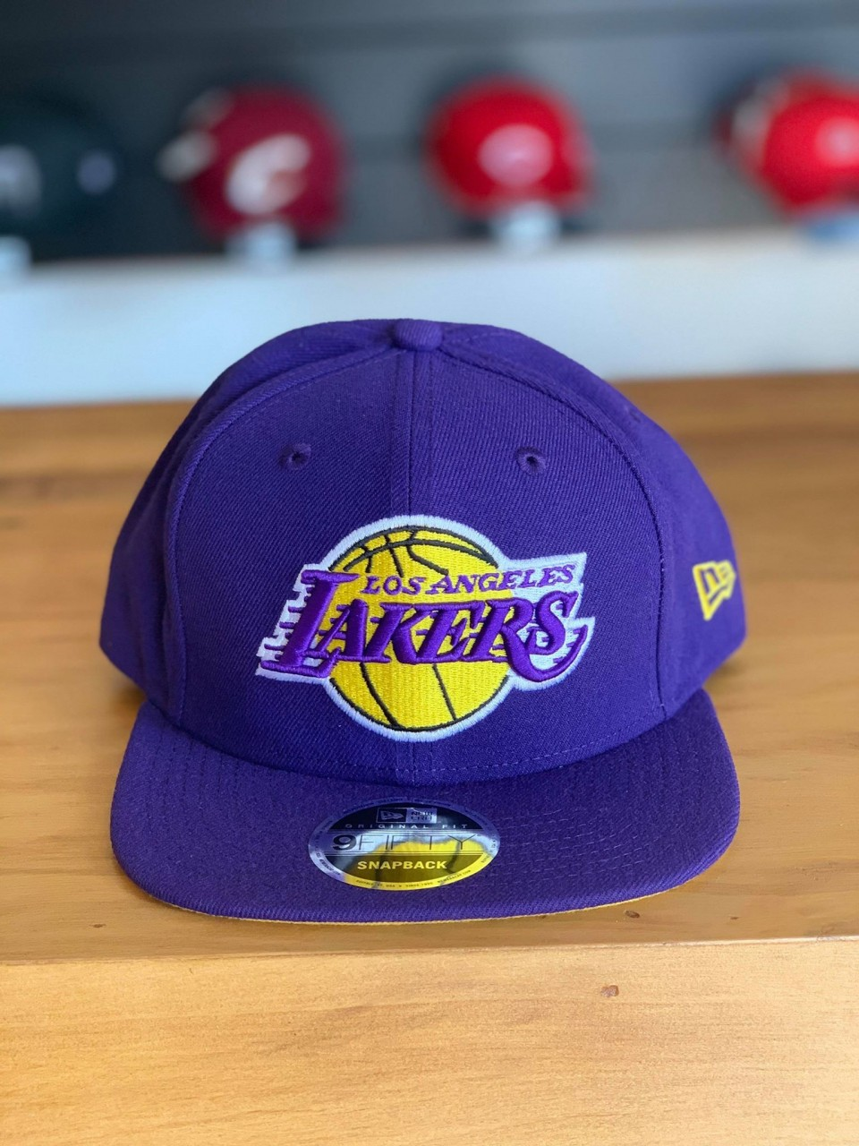 cf58f5010fa4d Boné New Era Aba Reta Lakers Roxo - Ultimate Sale