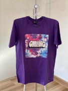 Camiseta Chronic Roxa Tie Dye